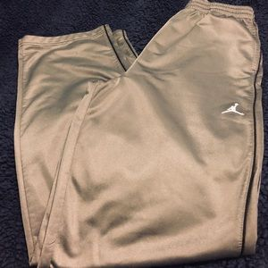 Jordan Track pants.